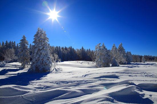 【冬品】徒步长白山脉秘境/老里克湖/雪地上留下自己的专属脚印